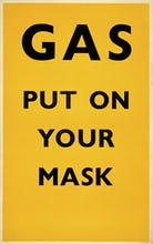 Gas - Put on your mask, 1941