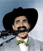 Groucho Marx (Go West) 1940