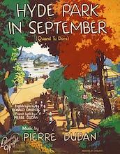 Hyde Park in September