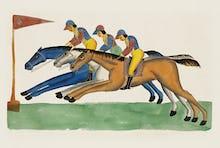 Jockeys, c.1830