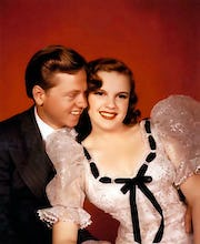 Judy Garland and Mickey Rooney (Strike Up the Band) 1940