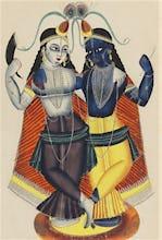 Krishna and Balarama, c.1855