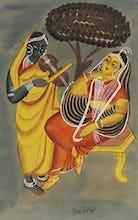 Krishna and Radha, c.1885