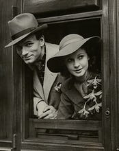 Laurence Olivier and Vivien Leigh, May 1937