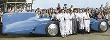 Malcolm Campbell's Bluebird