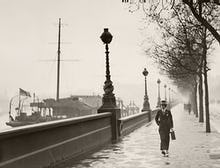 Man on The Embankment