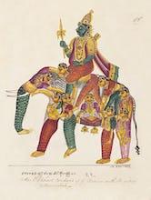 Manmatha or Kama, the god of love, c.1820