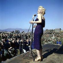 Marilyn Monroe - USO Tour, Korea