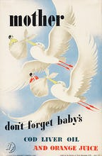 Mother - Don't Forget Baby's Cod Liver Oil
