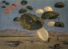 Parachute Drop 1943