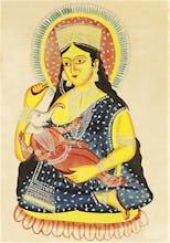 Parvati and Ganesha, c.1830