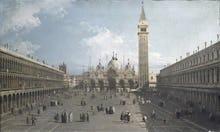 Piazza San Marco looking East towards Basilica