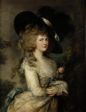Portrait of Georgiana, Duchess of Devonshire, c.1785-87