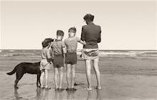 Post-war beach holiday