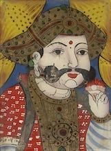 Raja Sarabhoji of Tanjore, c.1860