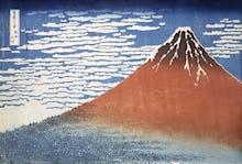 Red Fuji: South Wind, Clear Dawn