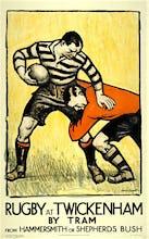 Rugby at Twickenham, 1921