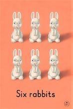 Six rabbits