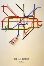 Tate Gallery by tube, 1986