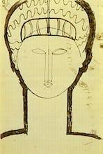 Tete et Epaules de Face, c.1912