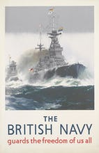 The British Navy Guards the Freedom of Us All