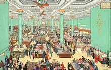 The British Scene - Department store scene, 1939-1946