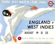 The Oval - England v. West Indies, 1939