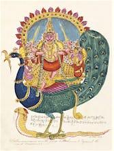 The god Subrahmanya, the god of war, c.1825