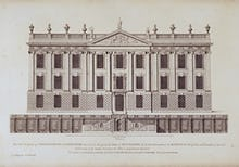 West Front of Chatsworth