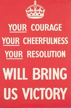 Your Courage, Your Cheerfulness, Your Resolution