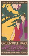 Greenwich Park Tram Services From North And East London Via Kingsway