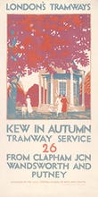 Kew In Autumn Tramway Service 26 From Clapham Jcn Wandsworth And Putney