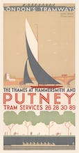 The Thames At Hammersmith And Putney