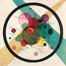 Circles in a Circle, 1923