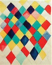 Colour Study with Diamonds 1913