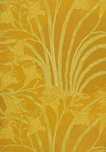 Day Lily wallpaper (Yellow), England, 1897