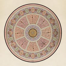 Finished drawing for a ceiling or a carpet II c1765-66 unexecuted