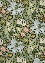 Golden Lily wallpaper, 1897