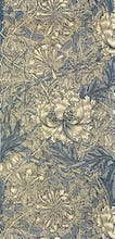 Honeysuckle (Blue) furnishing fabric, 1876