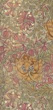 Honeysuckle furnishing fabric, 1876