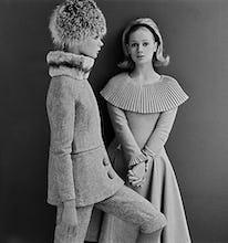 Jean Shrimpton and Celia Hammond in Mary Quant