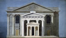 St Martin-in-the-Fields London the Portico of Augustus Rome and the Temple on the Ilissus Athens