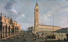 The Piazza di San Marco Venice
