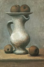 Still Life with Pitcher and Apples