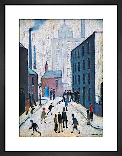 Industrial Scene, 1953 by L.S. Lowry