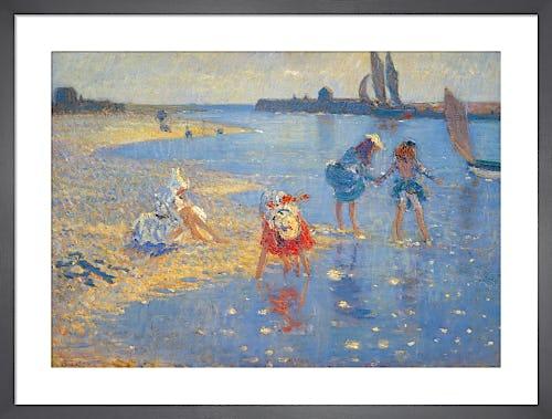Walberswick: Children Paddling by Philip Wilson Steer