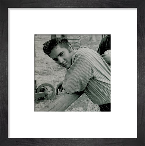 Elvis, 1956 (small) by Celebrity Image