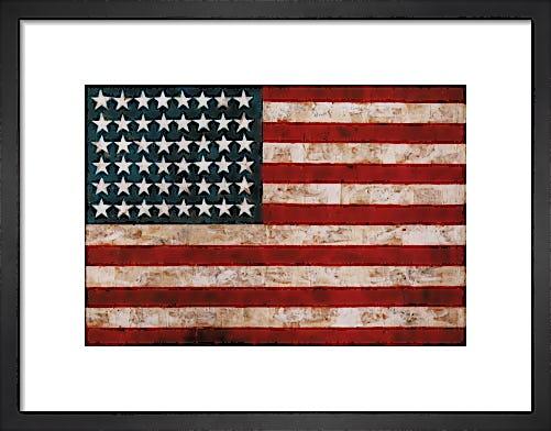 Flag, 1954 by Jasper Johns