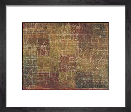 Cathedral, 1924 by Paul Klee