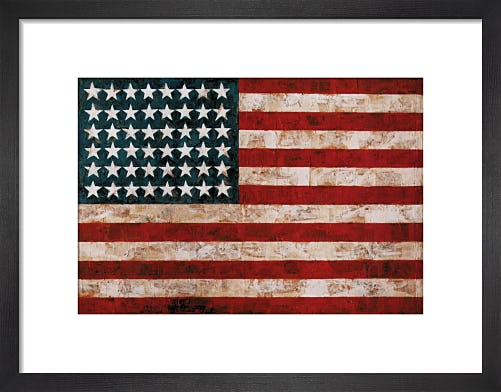 Flag, 1954 by Jasper Johns